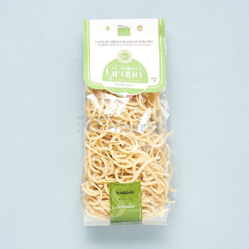 """Паста из твердых сортов пшеницы """" L`Anima di Grano  BIO"""" Scialatielli (500 гр)"""