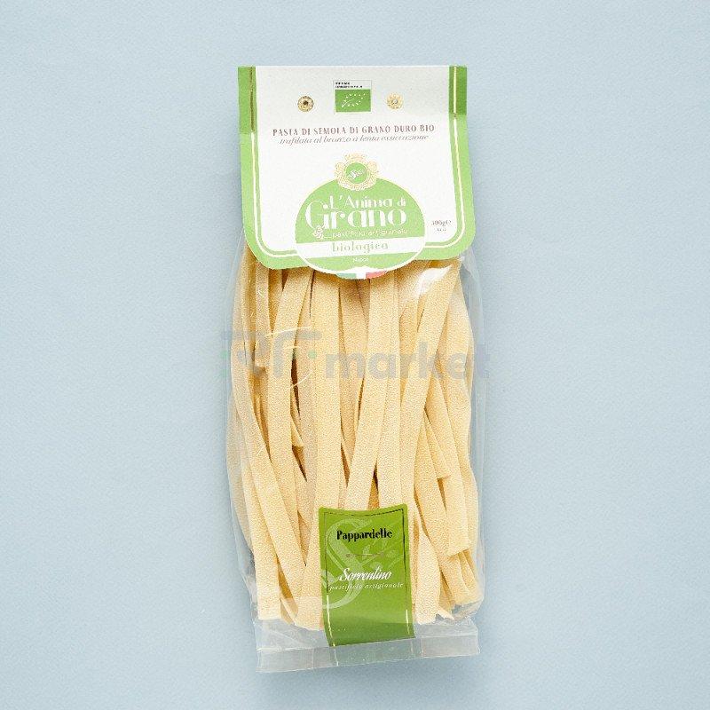 "Паста из твердых сортов пшеницы  ""L`Anima di Grano BIO"" Pappardelle (500 гр)"