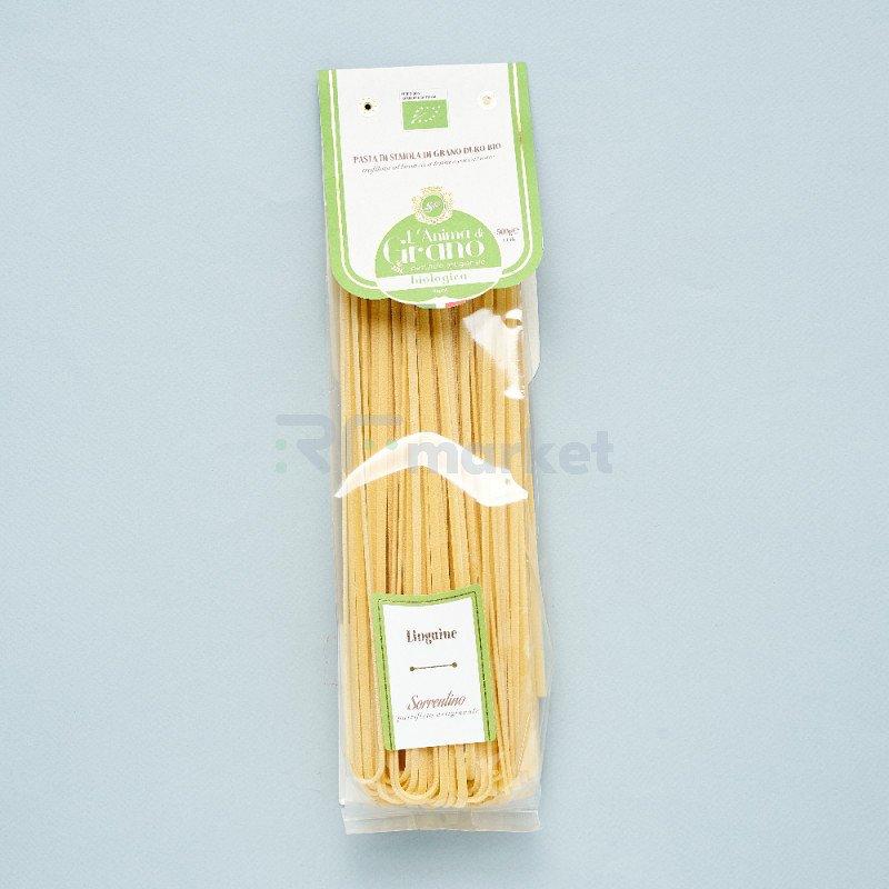 """Паста из твердых сортов пшеницы  """"L`Anima di Grano BIO"""" Linguine (500 гр)"""
