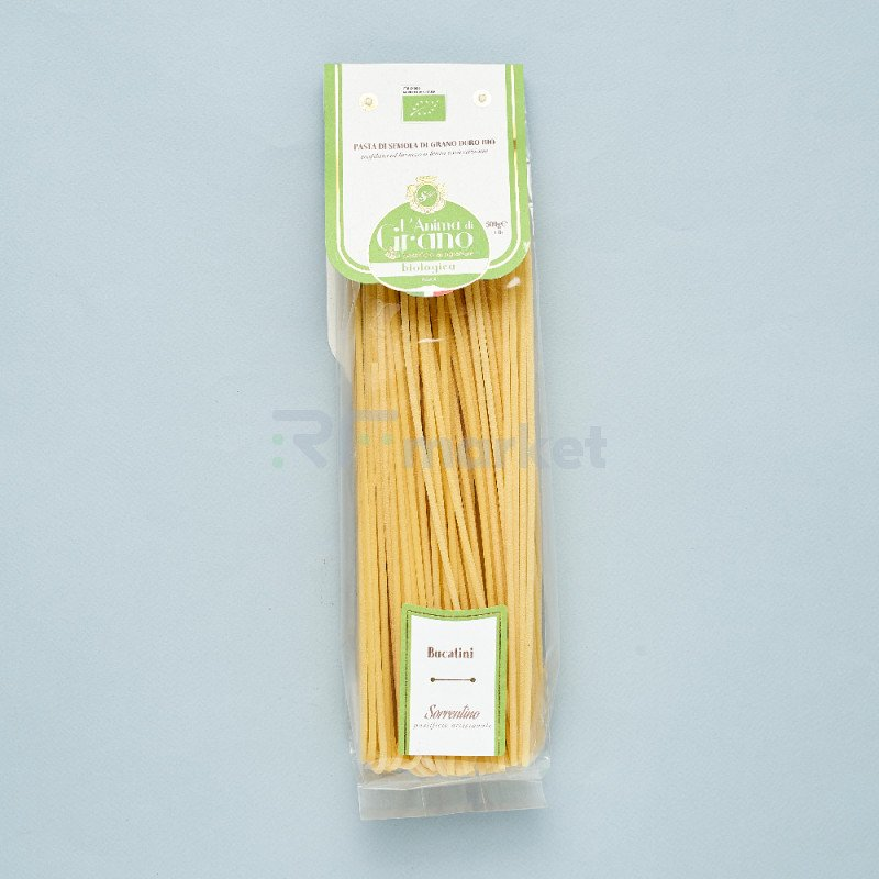 """Паста из твердых сортов пшеницы  """"L`Anima di Grano BIO"""" Bucatini (500 гр)"""