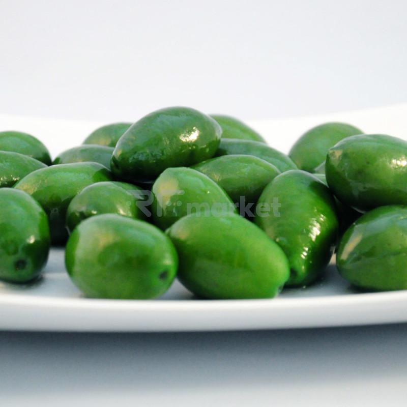 "Оливки Bella di Cerignola""Bonapti"" зеленые весовые  (250 гр)"