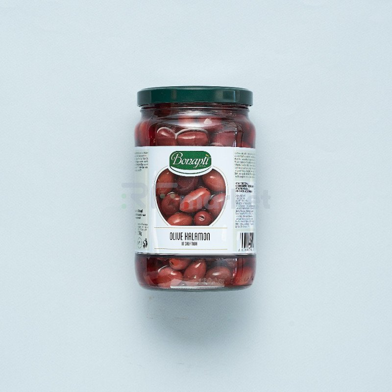 "Оливки с косточкой Kalamon""Bonapti"" в оливковом масле (1700 гр)"