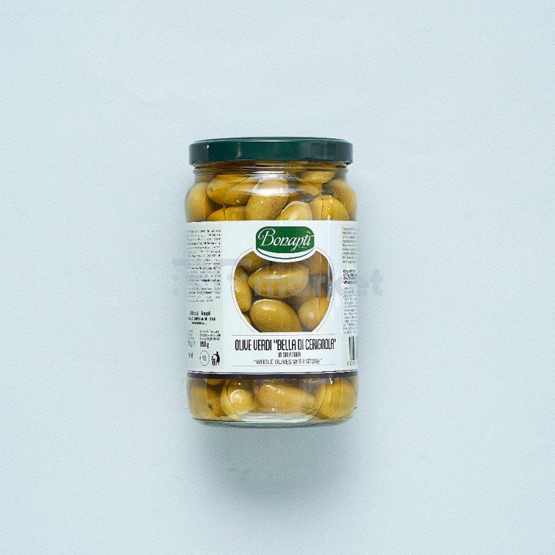 """Оливки Bella di Cerignola""""Bonapti""""  (1700 гр)"""