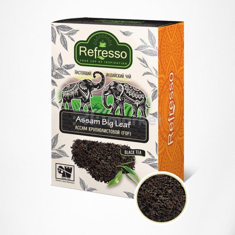 Чай Ассам крупнолистовой, 100 гр, Рефрессо/Refresso