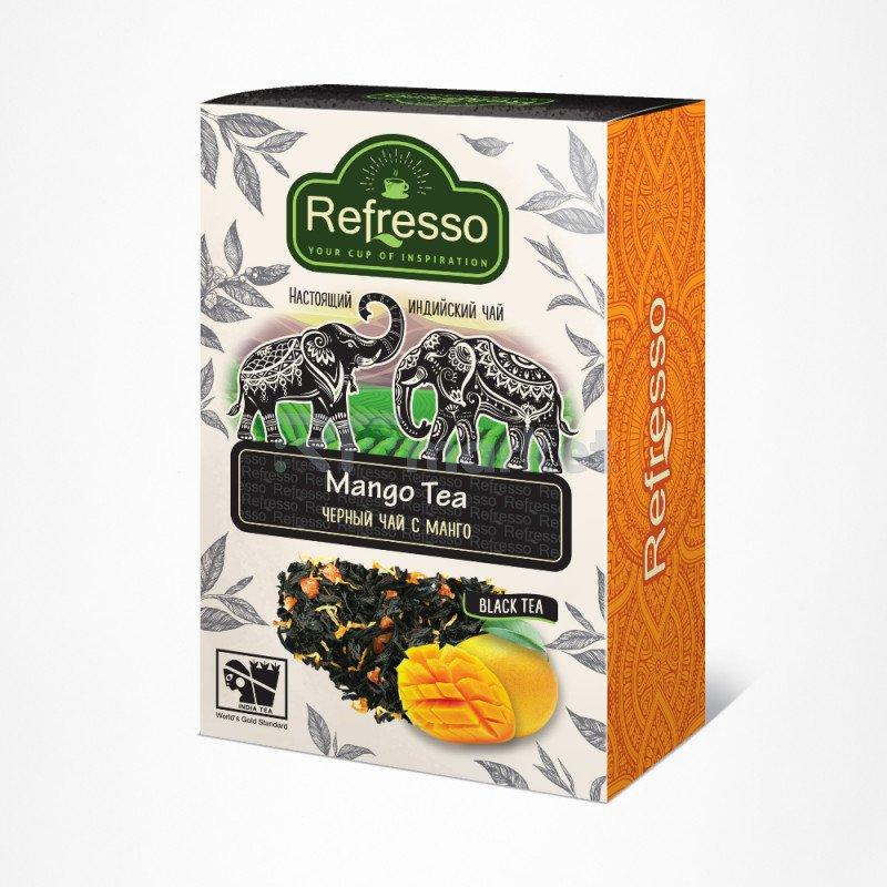 Чай Ассам черный с манго, 100 гр., Рефрессо/Refresso
