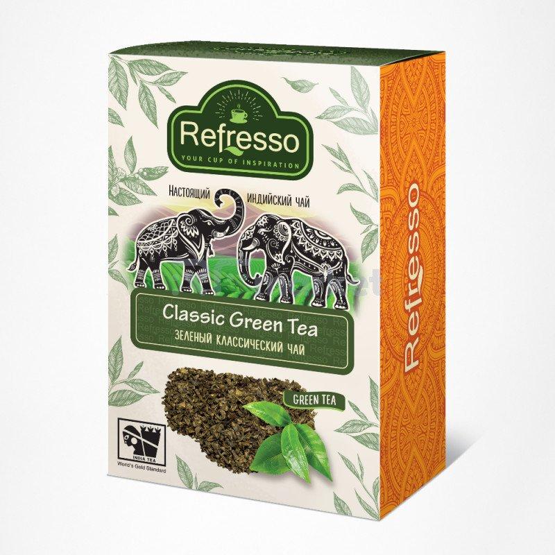 Чай зеленый классический, 250 гр., Рефрессо/Refresso