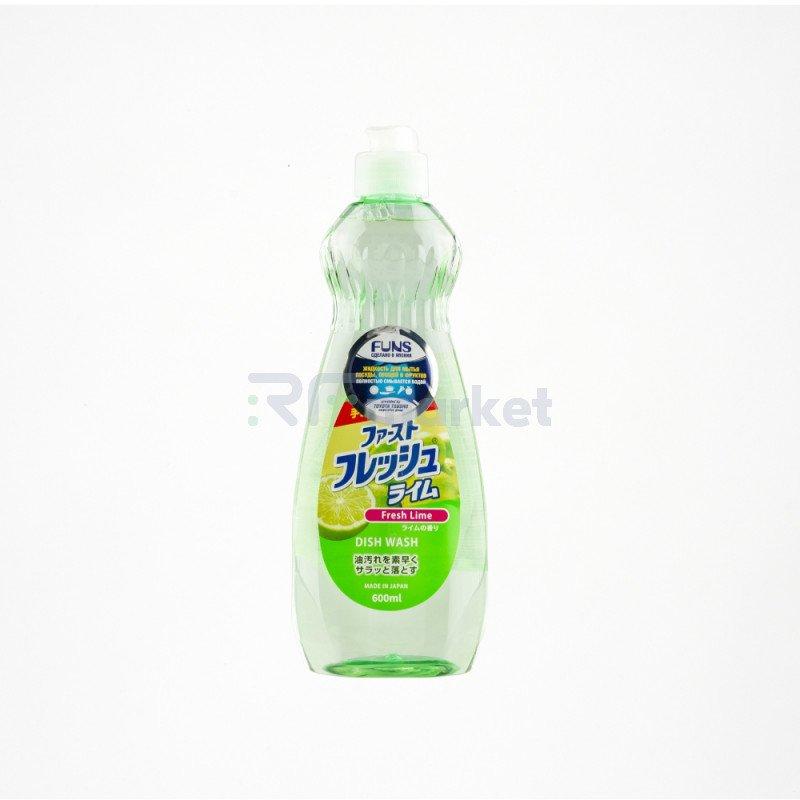 """FUNS Жидкость для мытья посуды, овощей и фруктов """"Свежий лайм"""""""
