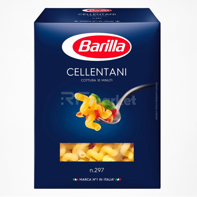 Barillа CELLENTANI №297 челлентани, 500 г