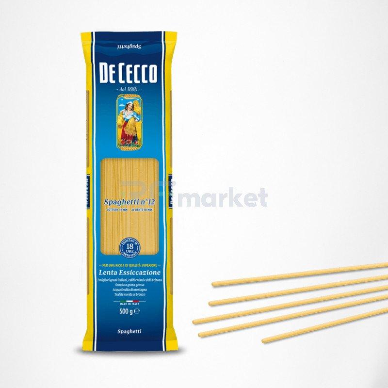 Макароны №12 Спагетти, Де Чекко/De Cecco, Италия