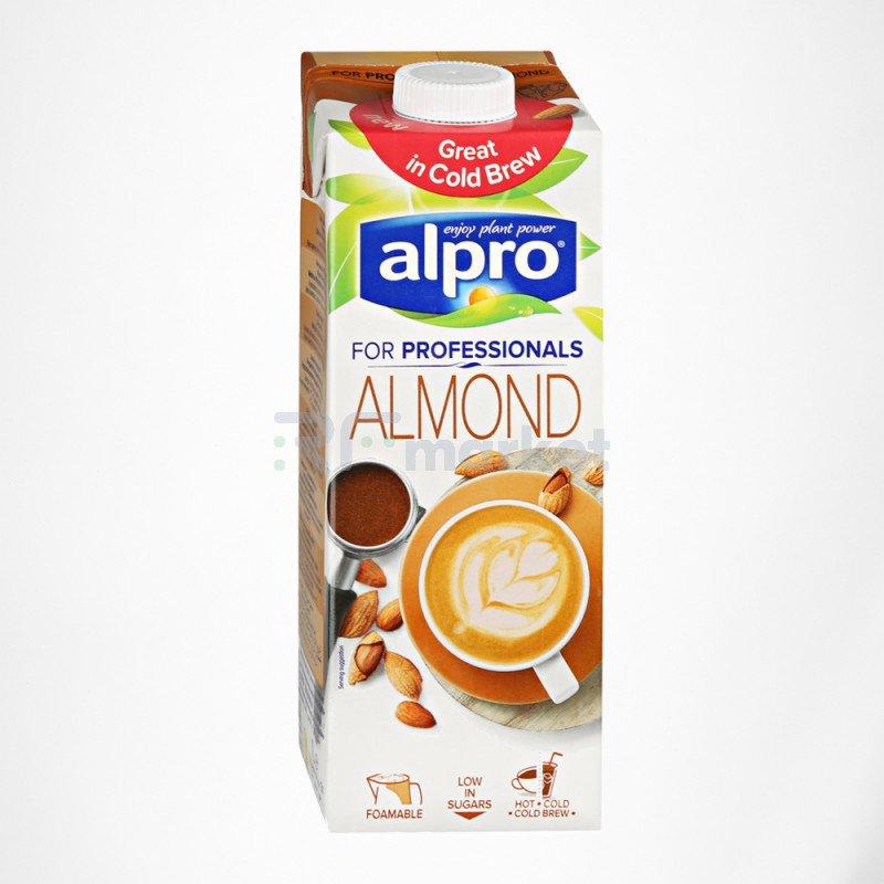 Напиток миндальный Professionals, обогащенный кальцием и витаминами, 1 л, Алпро/ALPRO