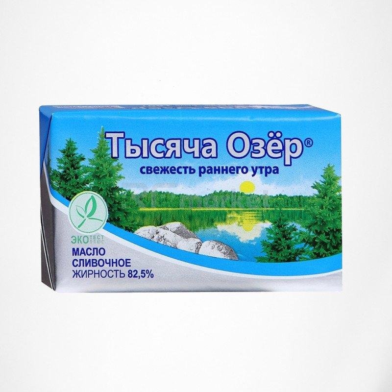 Масло Тысяча озер 500 гр. 82,5%