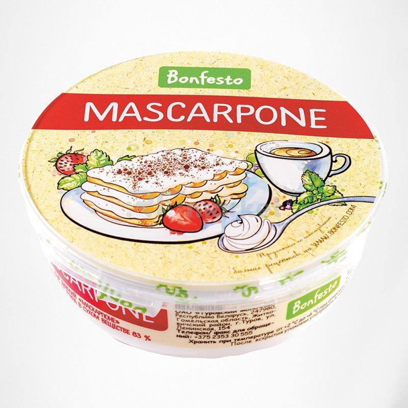 Маскарпоне 250 гр. Bonfesto 78% сыр