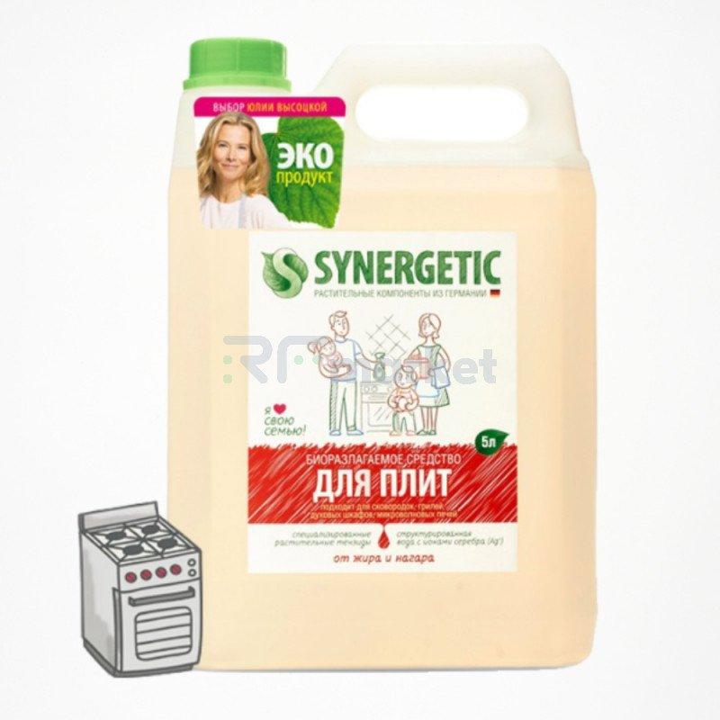 Cредство для удаления жира и нагара Synergetic, биоразлагаемое, 5 л
