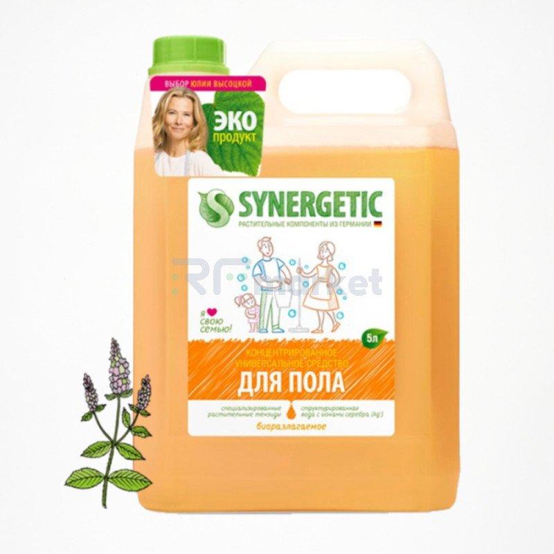 Средство для мытья поверхностей Synergetic, универсальное, биоразлагаемое, 5 л