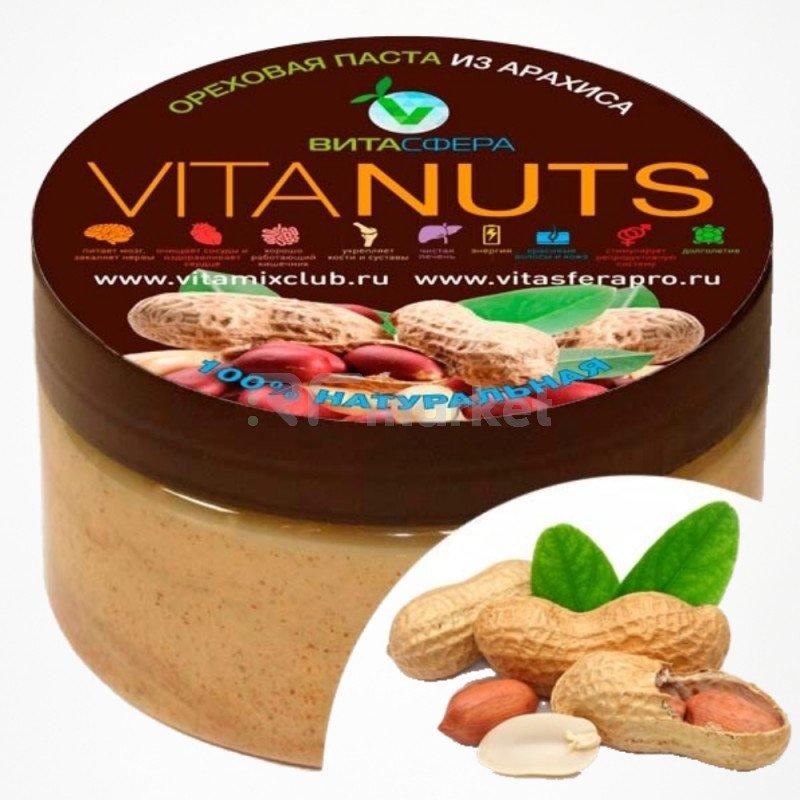 Паста ореховая    VitaNUTS, из арахиса  для функционального питания, ВитаСфера