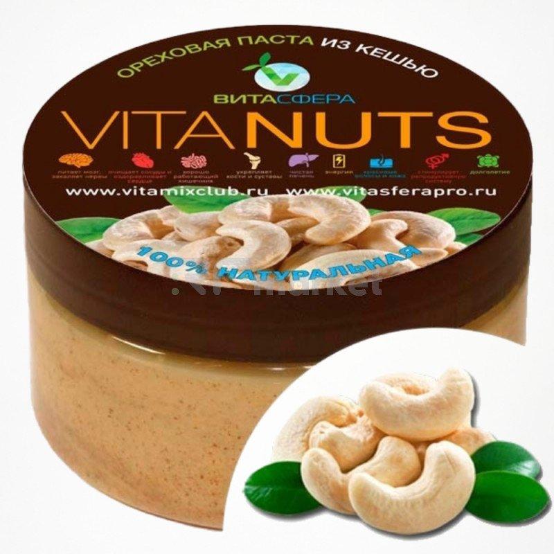Паста ореховая    VitaNUTS,  из кешью для функционального питания, ВитаСфера