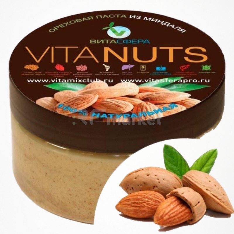 Паста ореховая VitaNUTS,  из миндаля для функционального питания, ВитаСфера