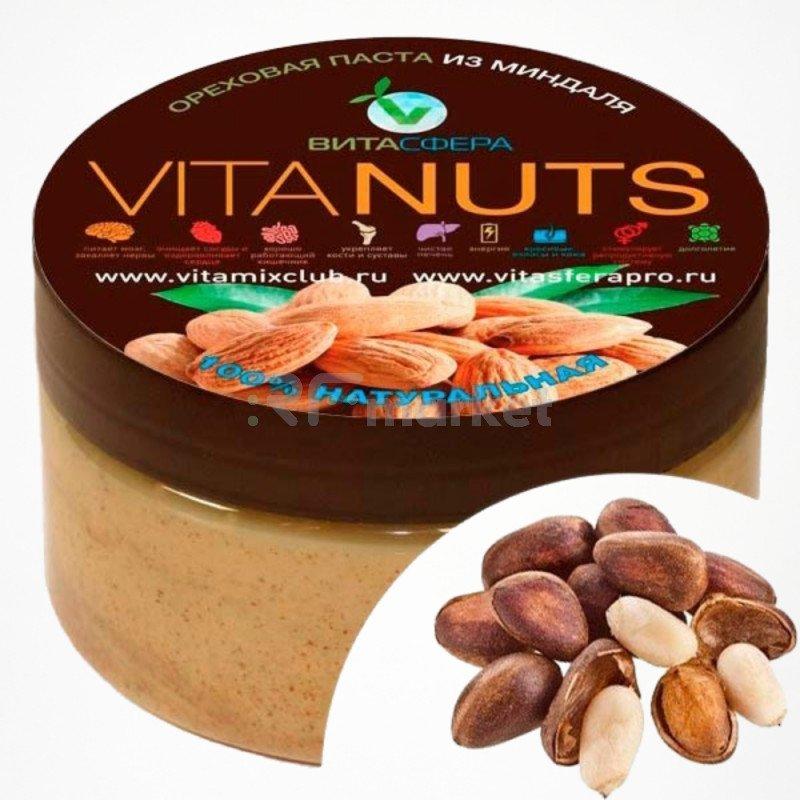 Паста ореховая    VitaNUTS,  из кедрового ореха для функционального питания, ВитаСфера