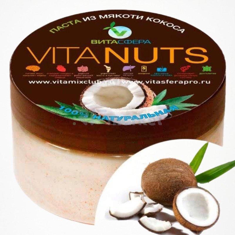 Паста ореховая    VitaNUTS,  из кокоса для функционального питания, ВитаСфера