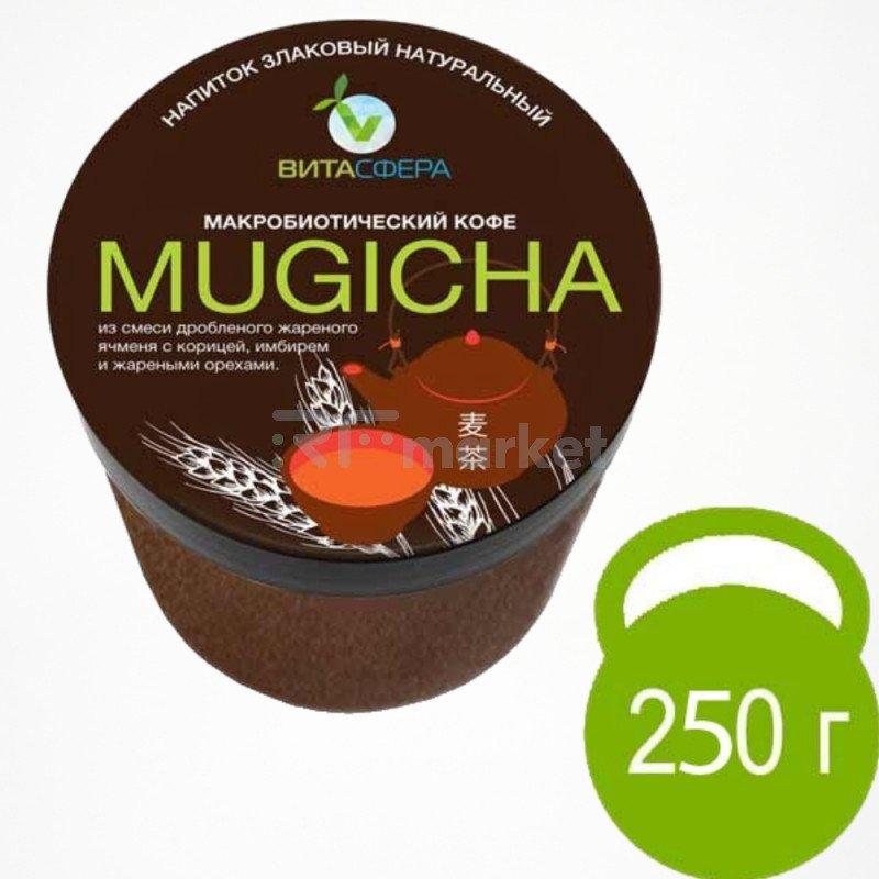 Напиток  ячменнный с корицей и тертым фундуком,  VitaMUGICHA,  для функционального питания, ВитаСфера
