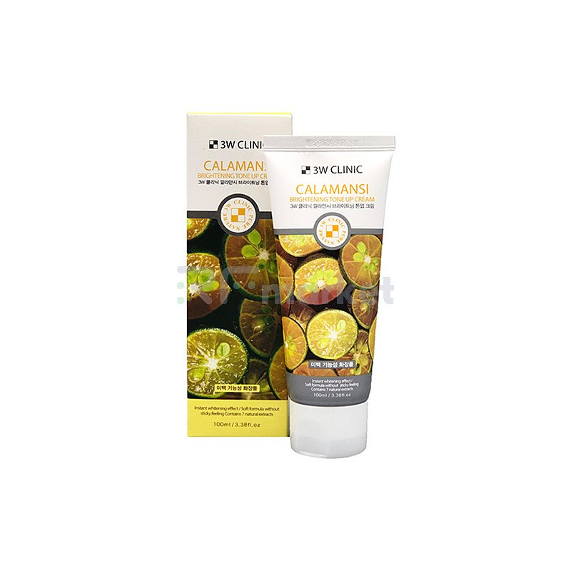 3W Clinic Крем осветляющий с экстрактом каламанси - Calamansi brightening tone up cream, 100мл