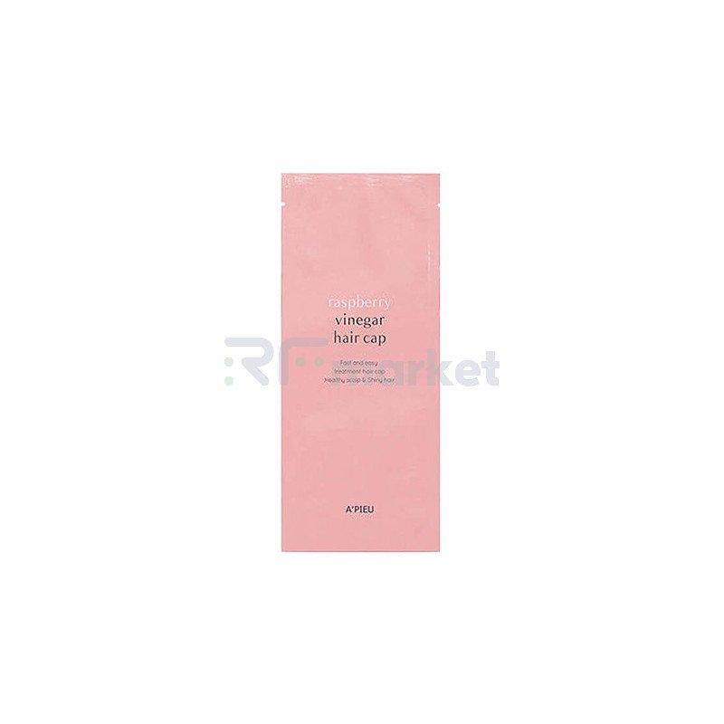 A'Pieu Маска для волос с малиновым уксусом - Raspberry vinegar hair cap, 35г