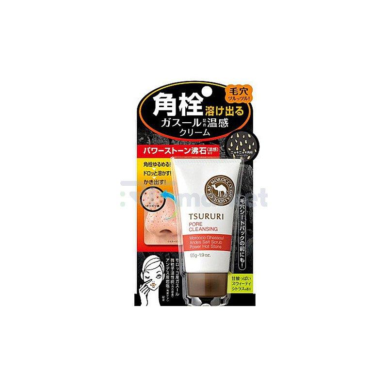 BCL Крем очищающий поры с термоэффектом - Tsururi pore cleansing cream, 55г