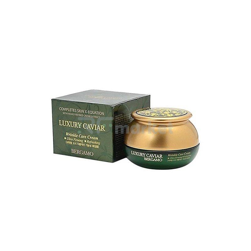 Bergamo Крем антивозрастной с экстрактом икры - Luxury caviar wrinkle care cream, 50г