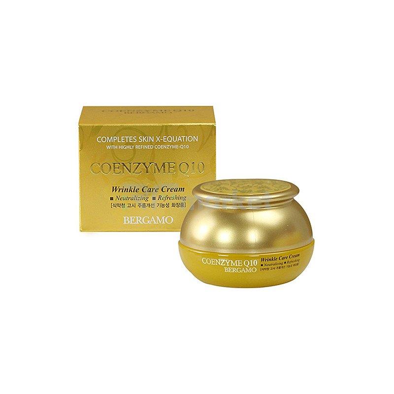 Bergamo Крем омолаживающий с коэнзим Q10 - Coenzyme Q10 wrinkle care cream, 50г