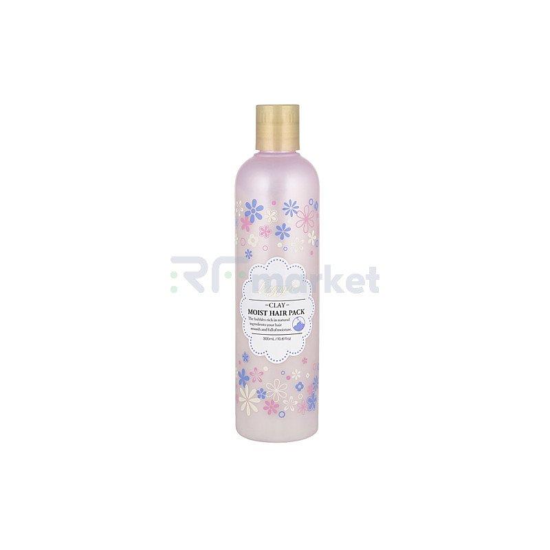 Bigaku Маска для окрашенных волос восстанавливающая увлажняющая - Laggie clay moist hair pack, 300мл