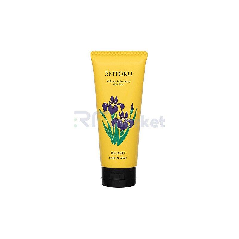 Bigaku Маска для восстановления поврежденных волос - Volume&recovery hair pack, 210г