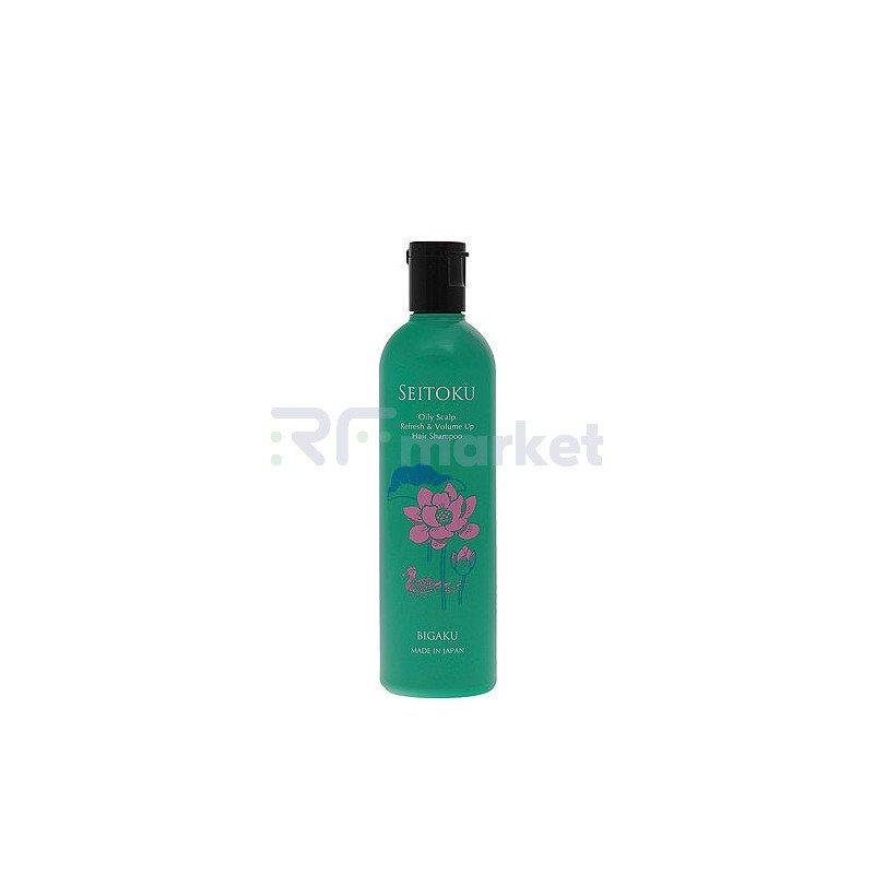 Bigaku Шампунь для ухода за жирной кожей головы - Oily scalp refresh&volume up hair shampoo, 330мл