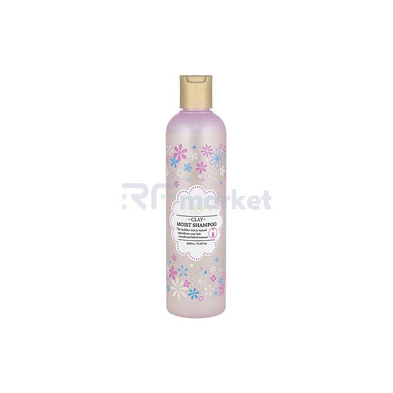 Bigaku Шампунь для ухода за чувствительной кожей головы - Laggie clay moist shampoo, 300мл