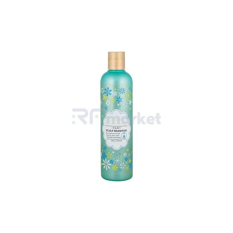 Bigaku Шампунь для увлажнения и питания кожи головы и волос - Laggie clay scalp shampoo, 300мл