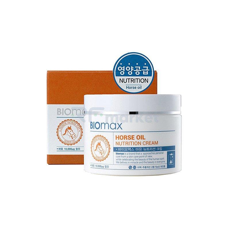 BioMax Крем питательный с лошадиным маслом - Horse oil nutrition cream, 100мл