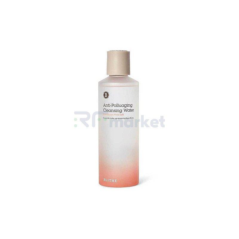 Blithe Вода очищающая - Anti-polluaging himalayan pink salt cleansing water, 250мл