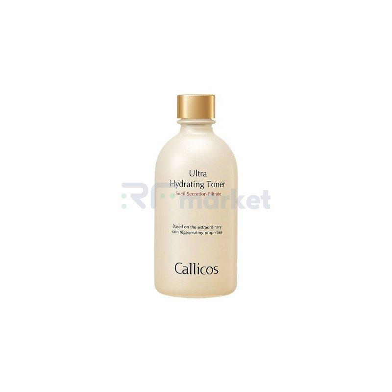 Callicos Тоник интенсивно увлажняющий с экстрактом слизи улитки - Ultra hydrating toner, 130мл