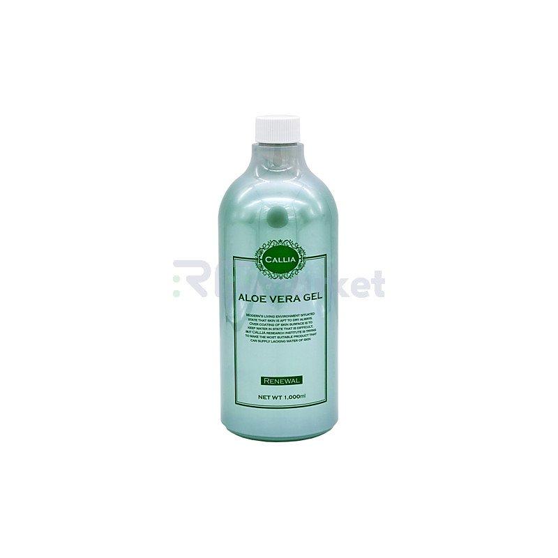 Callia Гель для кожи универсальный увлажняющий - Aloe vera gel, 1000мл