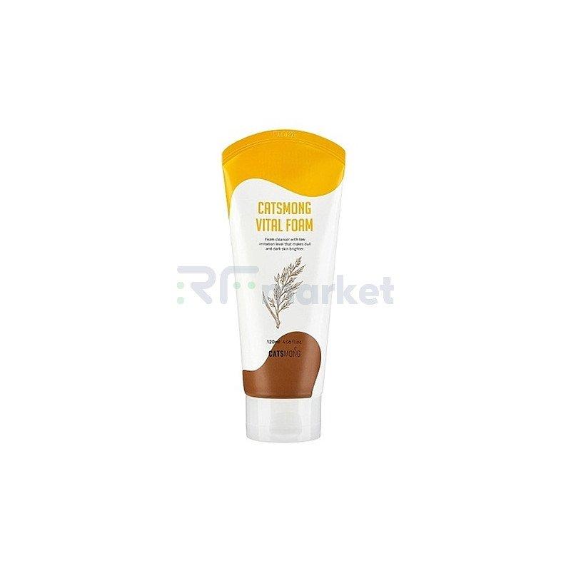 Catsmong Пенка для умывания витализирующая - Vital foam, 120мл