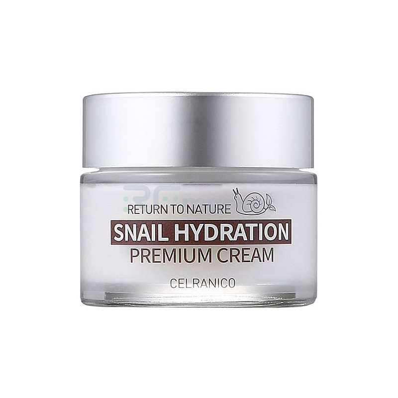 Celranico Крем для лица с муцином улитки - Return to nature snail hydration premium cream, 50мл