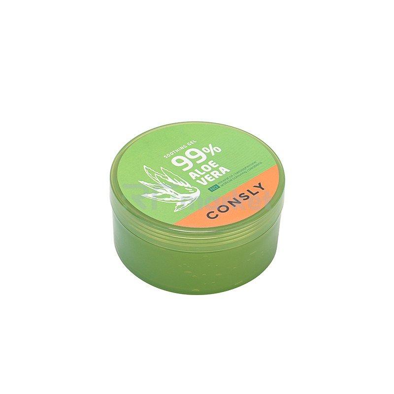 Consly Гель успокаивающий с экстрактом алоэ вера - Aloe vera soothing gel, 300мл