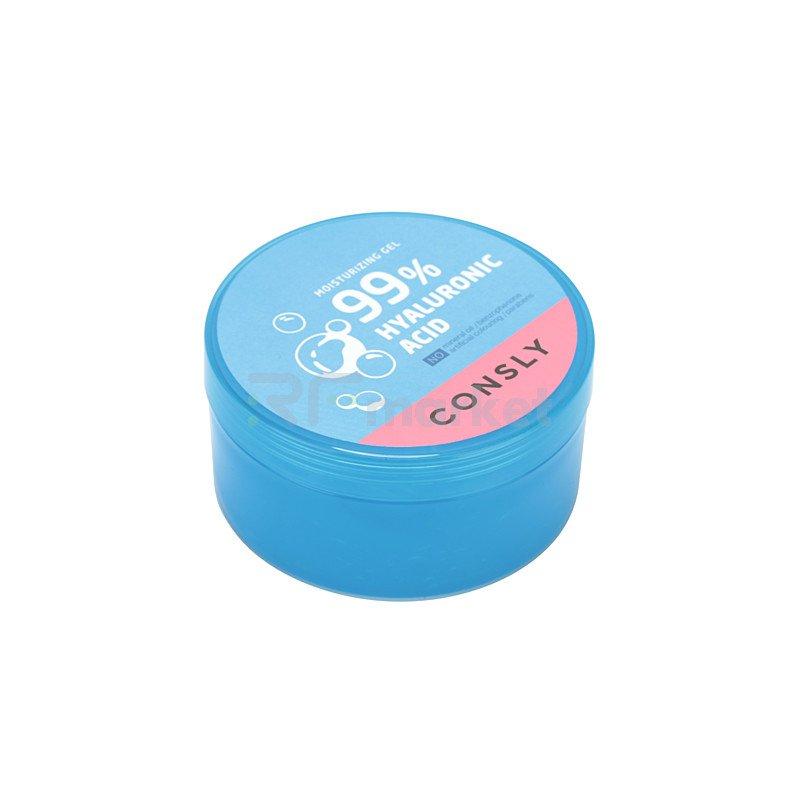 Consly Гель увлажняющий с гиалуроновой кислотой - Hyaluronic acid moisture gel, 300мл