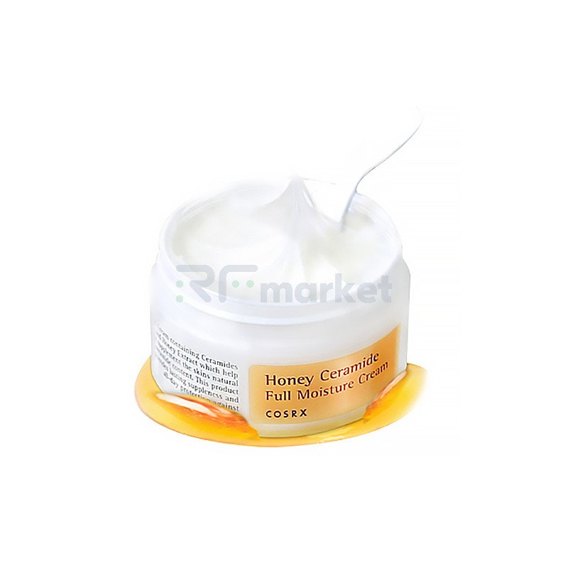 Cosrx Крем для лица интенсивно увлажняющий - Honey ceramide full moisture cream, 50мл