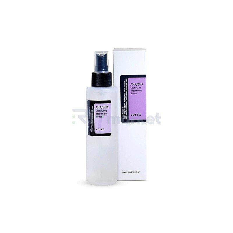 Cosrx Тонер для лица с кислотами - AHA/BHA clarifying treatment toner, 150мл