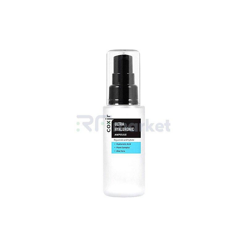 Coxir Ампульная сыворотка увлажняющая с гиалуроновой кислотой - Ultra hyaluronic ampoule, 50мл