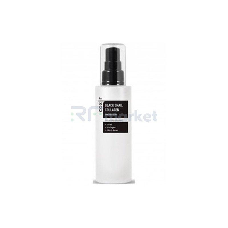 Coxir Эмульсия с коллагеном и муцином черной улитки - Black snail collagen emulsion, 100мл