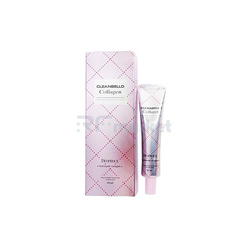 Deoproce Крем для век с коллагеном - Collagen essential moisture eye cream, 40мл