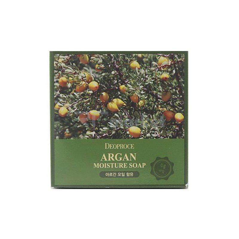 Deoproce Мыло с аргановым маслом - Soap argan, 100г
