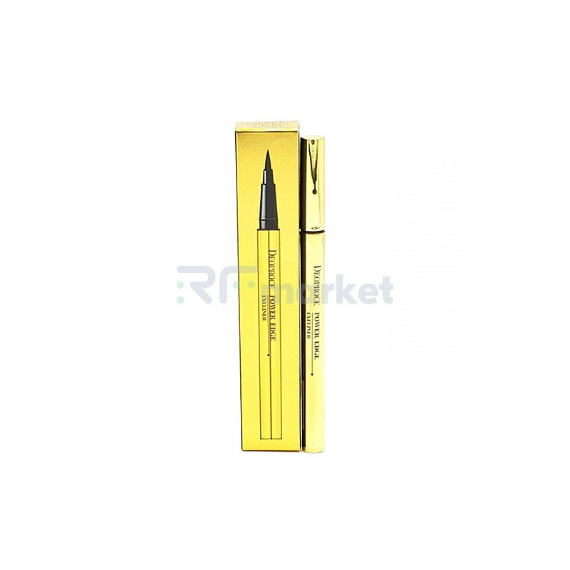 Deoproce Подводка для глаз жидкая - Power edge eyeliner, 5мл