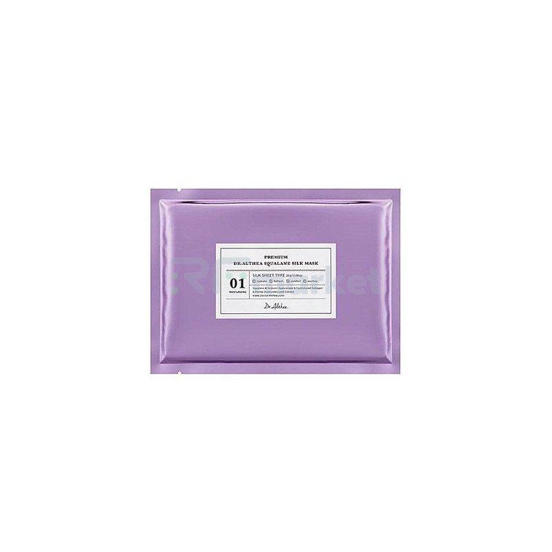 Dr.Althea Маска тканевая со скваланом - Premium squalane silk mask, 28г